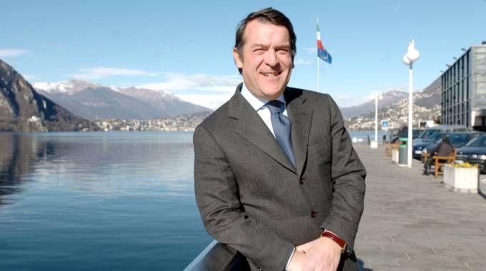 Il sindaco di Campione Roberto Salmoiraghi