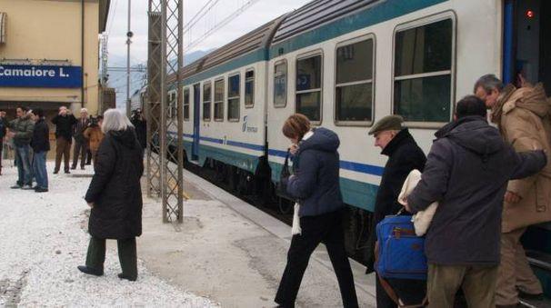 Le fermate alla stazione di Capezzano saranno ridotte