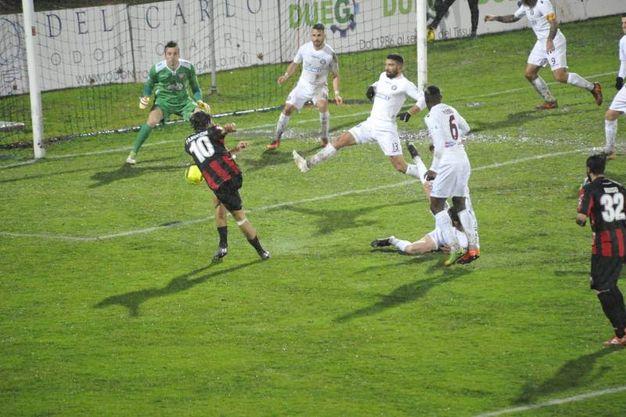Lucchese-Arezzo 1-1, le foto della partita (Alcide)