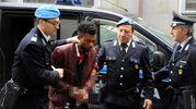 Innocent Oseghale, 29 anni, fermato per l'uccisione della 18enne romana Pamela Mastropietro (foto Calavita)