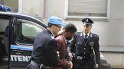 Il niigenriano arriva per l'udienza di convalida del suo fermo (foto Calavita)