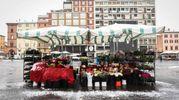 La neve in centro (Foto Schicchi)