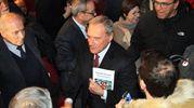 L'incontro di Pietro Grasso con gli elettori (Umberto Visintini / New Press Photo)