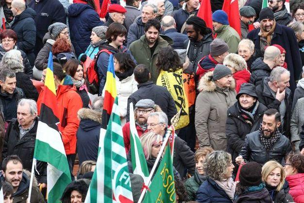 Alcuni momenti della manifestazione (Tommaso Gasperini / Fotocronache Germogli)