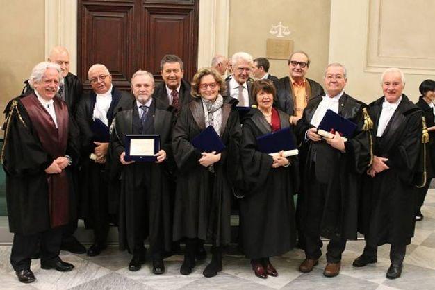 Festa degli avvocati pisani: gli avvocati con 40 anni di attività