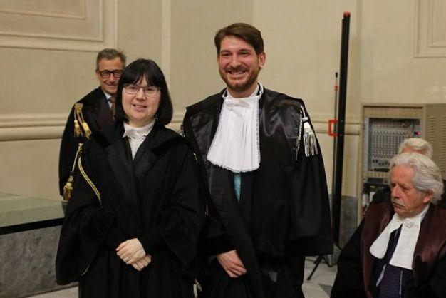 Festa degli avvocati pisani: Rosa Capria e Stefano Giannessi