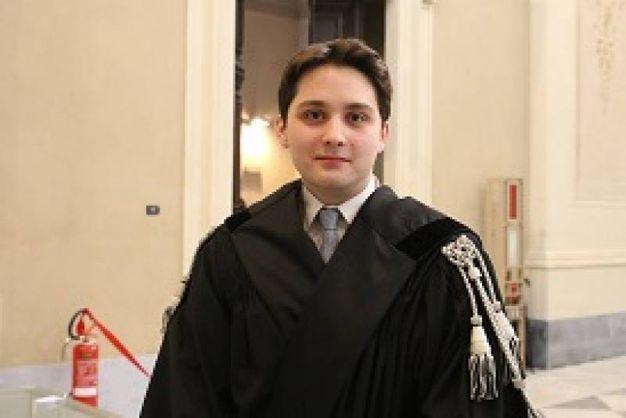 La festa degli avvocati pisani: il più giovane, Samuele Cantini