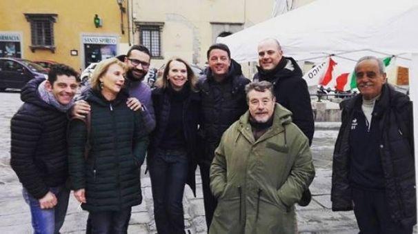 La foto pubblicata da Renzi su Instagram