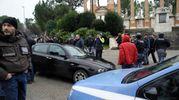 L'auto di Traini (foto Calavita)