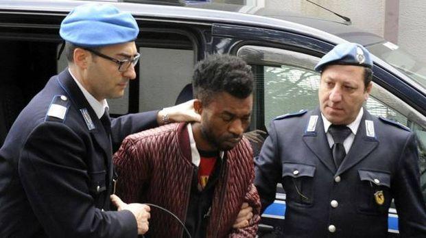 Innocent Oseghale ha fatto scena muta in tribunale