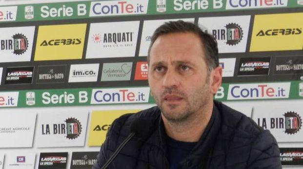 Mister Fabio Gallo, in conferenza stampa
