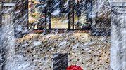 Nevica anche sotto i portici di via Rizzoli, foto di Massimo Manzoni, Bologna