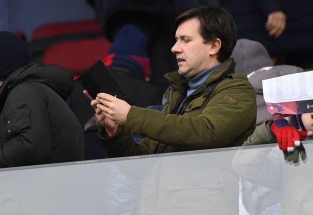 Bologna-Fiorentina, le foto della partita. Il sindaco di Firenze, DArio Nardella, in tribuna (FotoSchicchi)