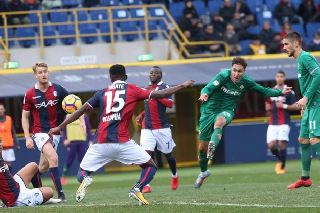 Bologna-Fiorentina, le foto della partita (Ansa)