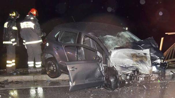 Incidente mortale a Stagno (foto Novi)
