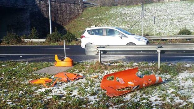 Autovelox distrutti a Imola (Foto Isolapress)