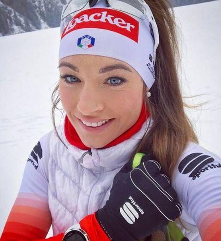 Dorothea Wierer: biathlon, Italia (Instagram)