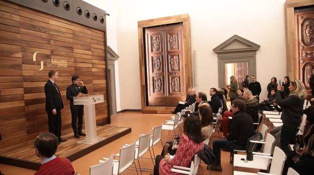 Uffizi presentazione auditorium Vasari e nuove sale espositive (New Press Photo)