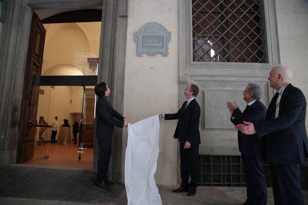 Uffizi presentazione auditorium Vasari e nuove sale espositive.(Giuseppe Cabras/New Pressphoto)