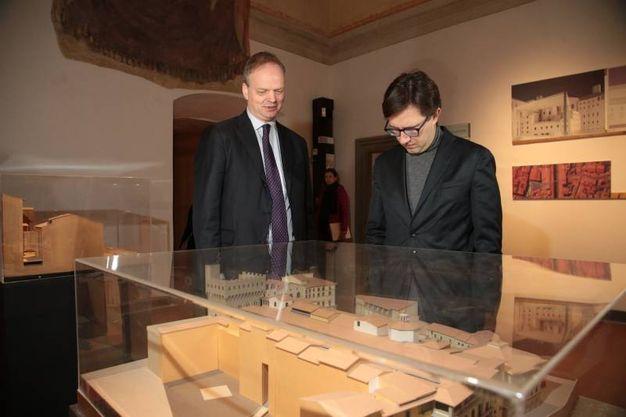 Eike Schmidt e Dario Nardella (Giuseppe Cabras/New Pressphoto)
