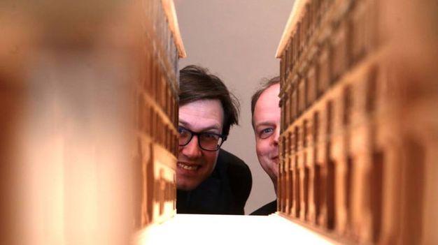 Uffizi presentazione auditorium Vasari e nuove sale espositive. Con Eike Schmidt e Dario Nardella (Giuseppe Cabras/New Pressphoto)
