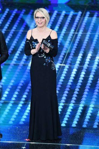 Maria De Filippi, Sanremo 2017 (LaPresse)