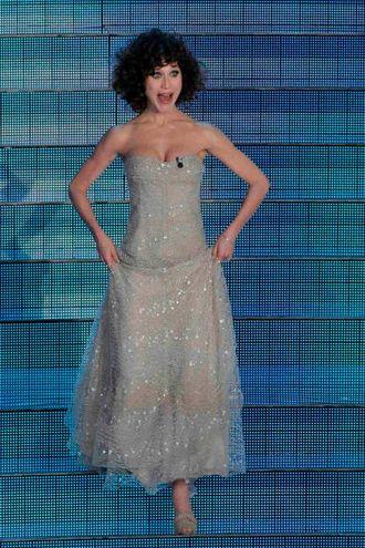 Gabriella Pession, Sanremo 2009 (LaPresse)