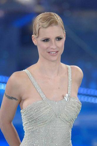Michelle Hunziker, Sanremo 2006 (LaPresse)