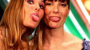 Ilary Blasi e Victoria Cabello, Sanremo 2006 (Ansa)