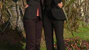 Paola Cortellesi e Simona Ventura, Sanremo 2004 (Lapresse)
