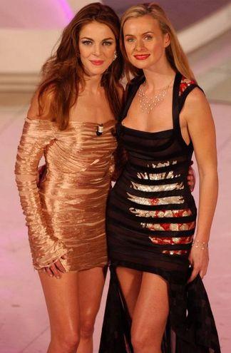 Claudia Gerini e Serena Autieri, Sanremo 2003 (Lapresse)