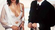 Ines Sastre e Fabio Fazio, Sanremo 2000 (Lapresse)