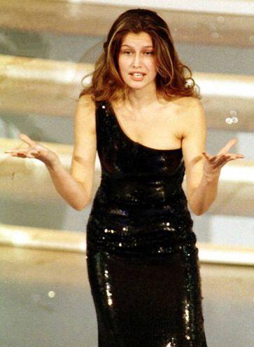 Laetitia Casta, Sanremo 1999 (Ansa)