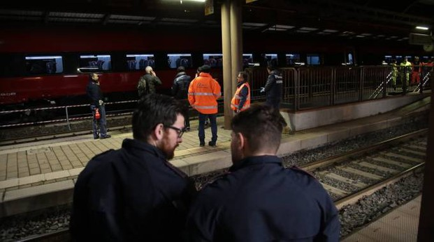 Il luogo dell'incidente (foto Giuseppe Cabras/New Pressphoto)