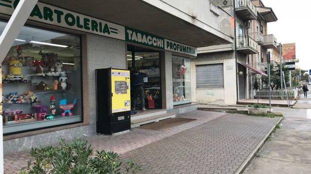 L'esterno della tabacchiera Vagnoni