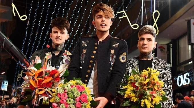 Sanremo 2018, i The Kolors: tra i big in gara (Ansa)