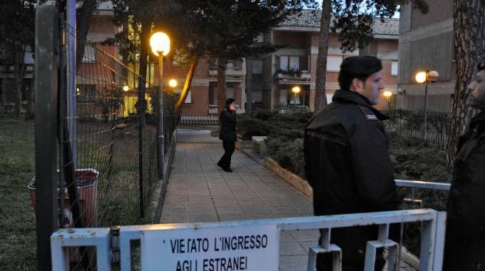 Il sopralluogo in via Spalato (foto Calavita)