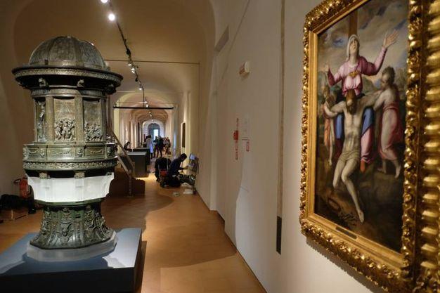 Il percorso della mostra si snoda fra la chiesa di San Giacomo e i Musei di San Domenico (Foto Frasca/Fantini)