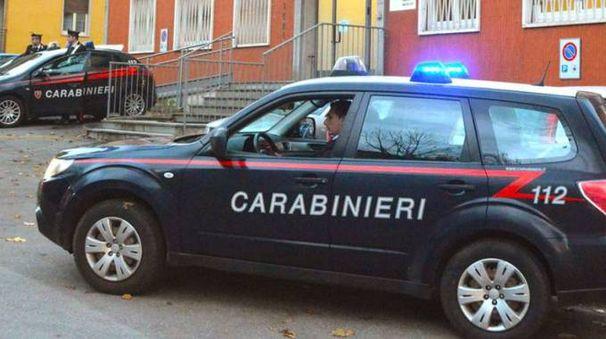 La caserma dei carabinieri di Zogno