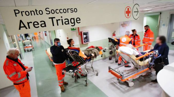 Immagine d'archivio di un pronto soccorso (Fotocastellani)