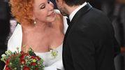 Ornella Vanoni e Pierfrancesco Favino (foto Ansa)