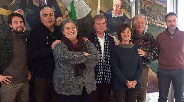 I rappresentanti della Casa degli Artisti