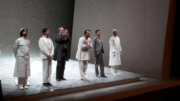 Alessandro Preziosi in scena al teatro della Pergola di Firenze