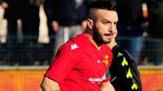 Simone Rispoli con la maglia giallorossa