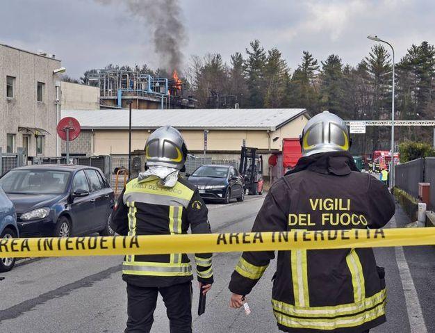 Vigili del fuoco al lavoro (Cusa)