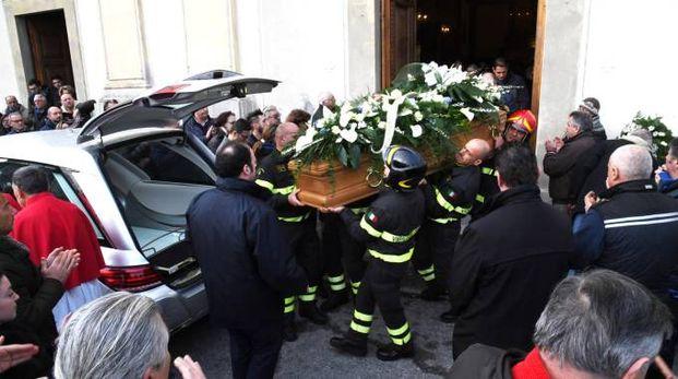 I funerali di Andrea Lucchesi