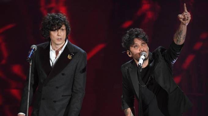 Sanremo 2018, Ermal Meta e Fabrizio Moro restano in gara  (Ansa)