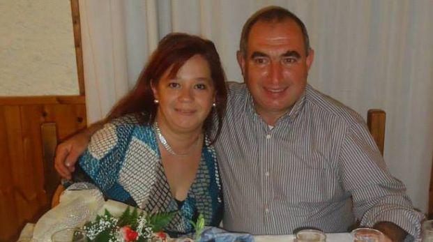 Susy Paci insieme al marito