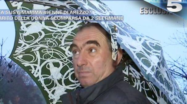 Celestino, il marito di Susy, su Canale 5