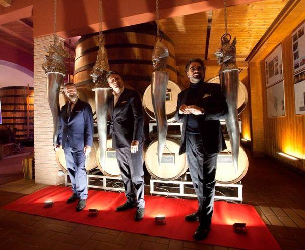 Raffaele, Luca e Armando De Nigris (foto Cabri)